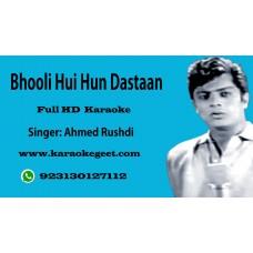 Bhooli hui hoon dastan  Audio Karaoke