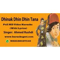 Dhinak dhin dhin tana Video Karaoke