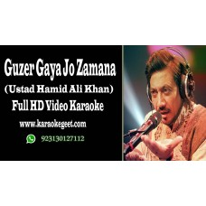 Guzer gaya jo zaman usay bhoola hi do Video karaoke