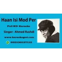 Han isi mod per es jagha baith kar Audio Karaoke