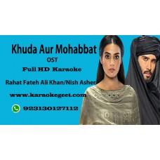 Khuda aur Mohabbat (OST) Audio Karaoke