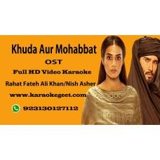 Khuda aur Mohabbat (OST) Video Karaoke