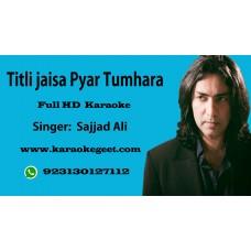 Titli jaisa Pyar tumhara Audio Karaoke