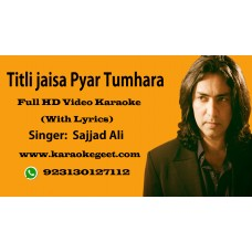 Titli jaisa Pyar tumhara Video Karaoke