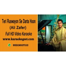 Teri ruswayun se darta hun Video Karaoke