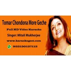 Tomor Chondona Video Karaoke