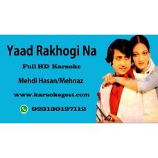Yaad rakhogi na Audio karaoke