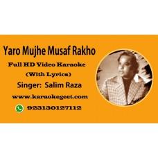 Yaro mujhe muaaf rakho Video Karaoke